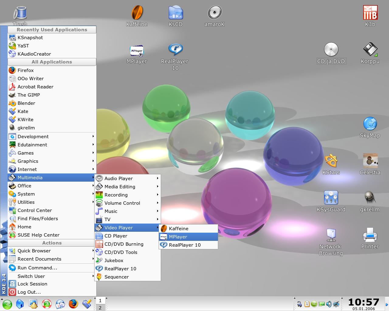 Linux - the homepage of Jukka N